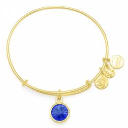 ALEX AND ANI September Birthstone Charm Bangle