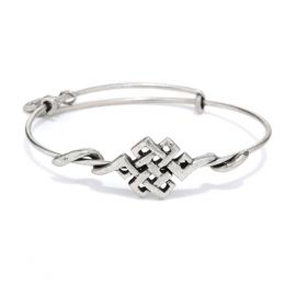 Alex and Ani Endless Knot Wrap Bracelet