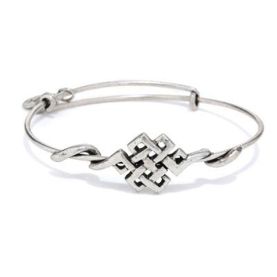 Endless Knot Wrap Bracelet
