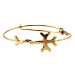 Alex and Ani Armenian Cross Wrap Bracelet