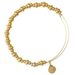 Alex and Ani Nile Beaded Bangle