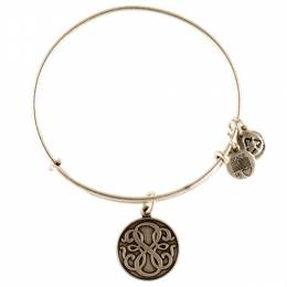 ALEX AND ANI Path of Life Charm Bangle