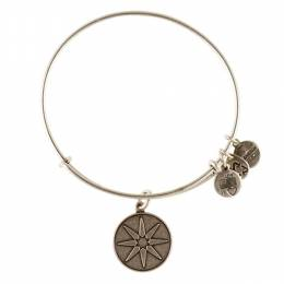 Alex and Ani Star of Venus Charm Bangle