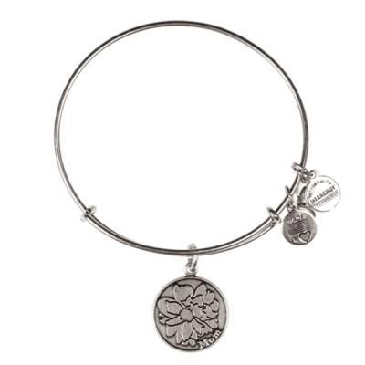 Mom Charm Bangle Bracelet