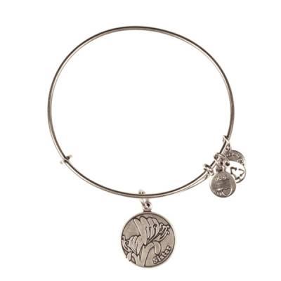 Sister Charm Bangle Bracelet
