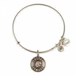 Alex and Ani Boston Red Sox Primary Logo Charm Bangle