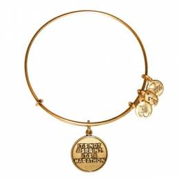 ALEX AND ANI It's Not A Sprint Charm Bangle | Dana-Farber Cancer Institute