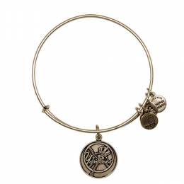 Alex and Ani New York Yankees Primary Logo Charm Bangle