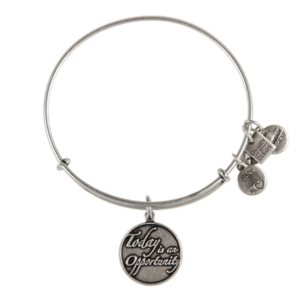 Alex And Ani Today Is An Opportunity Charm Bangle The