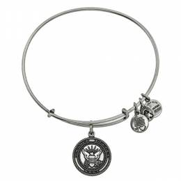 Alex and Ani U.S. Navy Charm Bangle