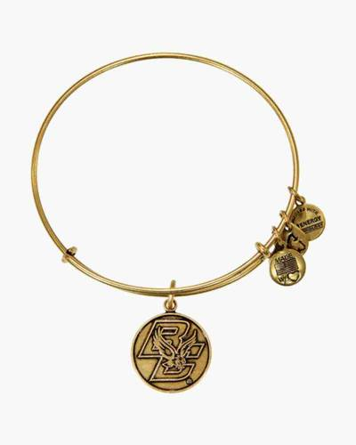 Boston College Logo Charm Bangle