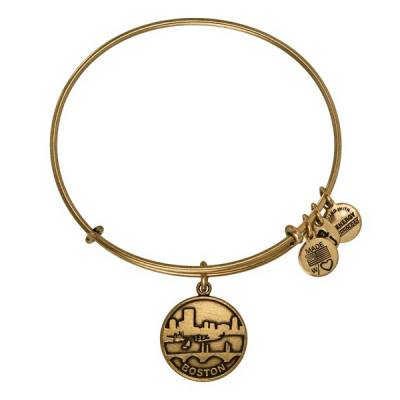Boston Skyline Charm Bangle