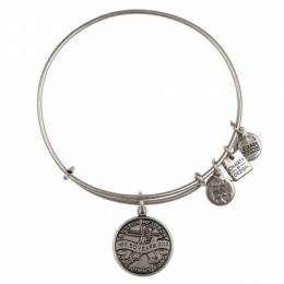 Alex and Ani Jimmy Fund Charm Bangle