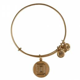 Alex and Ani Dartmouth College Logo Charm Bangle in Rafaelian Gold Finish