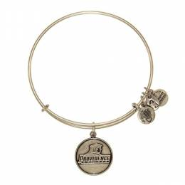 Alex and Ani Providence College Logo Charm Bangle in Rafaelian Silver Finish