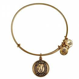 Alex and Ani Rhode Island College Logo Charm Bangle