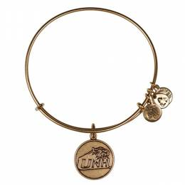 ALEX AND ANI University Of New Hampshire Logo Charm Bangle