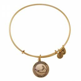 Alex and Ani Nantucket Island Charm Bangle in Rafaelian Gold