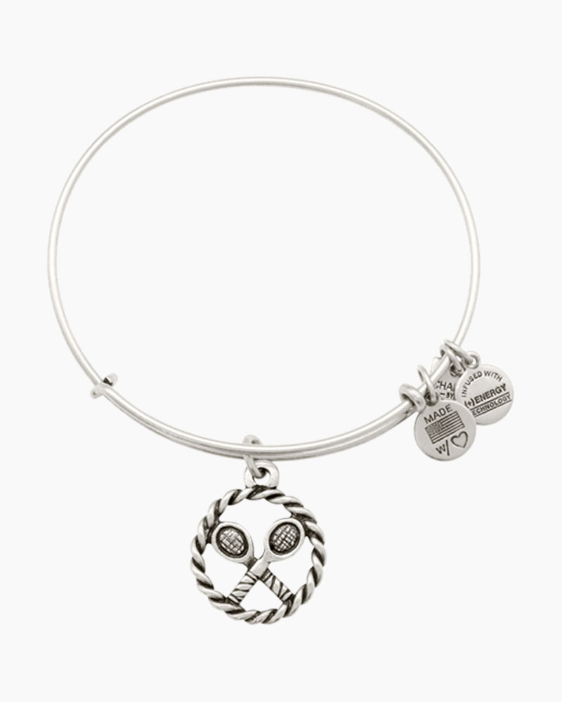 ALEX AND ANI Game, Set, Match Charm Bangle | International Tennis Hall of Fame & Museum