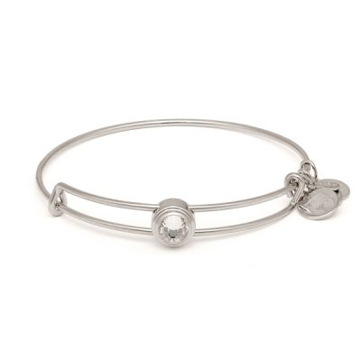 Crystal Illumination Sacred Studs Bangle
