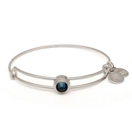 Alex and Ani Montana Blue Intuition Sacred Studs Bangle