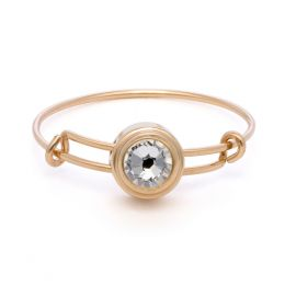 Alex and Ani Crystal Illumination Sacred Studs Ring