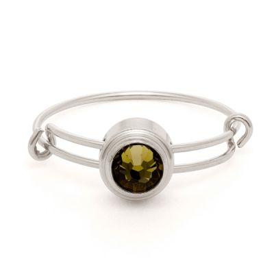 Khaki Healing Sacred Studs Ring