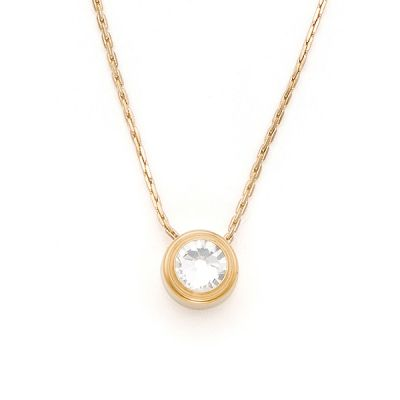 Crystal Illumination Sacred Studs Necklace