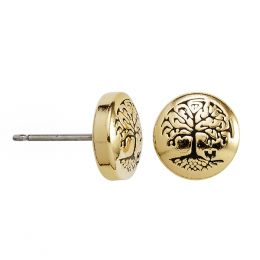 Alex and Ani Tree of Life Stud Earrings