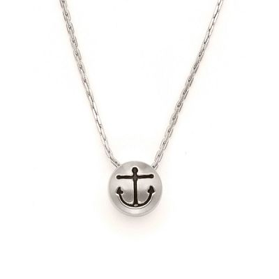 Anchor Sacred Studs Necklace
