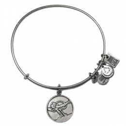 ALEX AND ANI Team USA Skiing Charm Bangle
