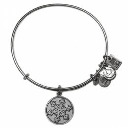 Alex and Ani Team USA Snowflake Charm Bangle