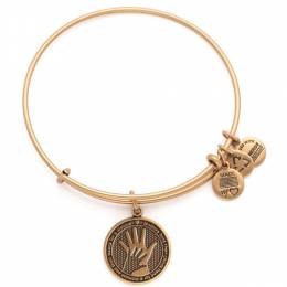 Alex and Ani Hand In Hand Charm Bangle