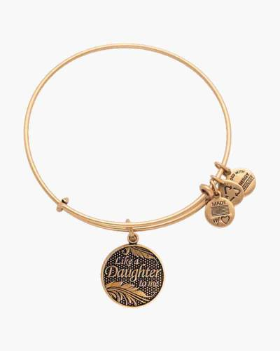 Like A Daughter Charm Bangle