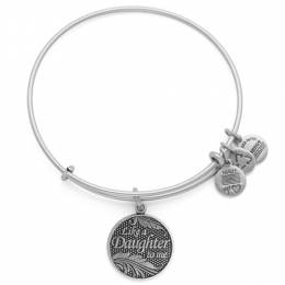Alex and Ani Like A Daughter Charm Bangle