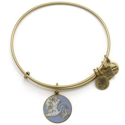 Blue Special Delivery Charm Bangle | March of Dimes