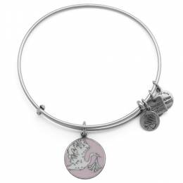 Alex and Ani Pink Special Delivery Charm Bangle | March of Dimes