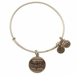 ALEX AND ANI Completely Blessed Charm Bangle