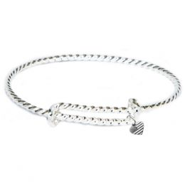Alex and Ani Shining Sea Expandable Wire Bangle