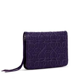 Alex and Ani Amethyst Gabriel Zip Wallet