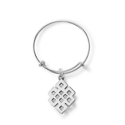 Endless Knot Expandable Wire Ring