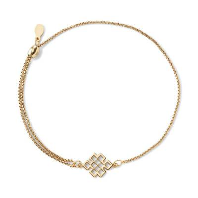 Endless Knot Pull Chain Bracelet