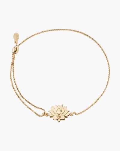 Lotus Peace Petals Pull Chain Bracelet