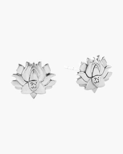 Lotus Peace Petals Post Earrings