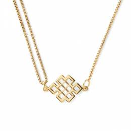 Alex and Ani Endless Knot Pull Chain Necklace