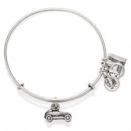 Alex and Ani Monopoly Car Expandable Wire Bangle in Rafaelian Silver Finish