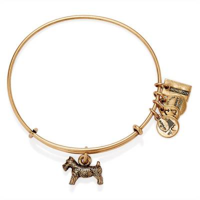 Monopoly Dog Expandable Wire Bangle