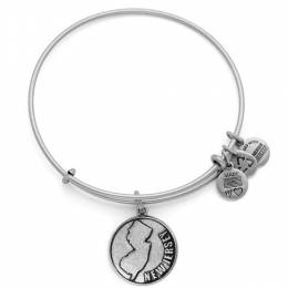 Alex and Ani New Jersey Charm Bangle