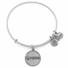 Alex and Ani Rutgers University Logo Charm Bangle