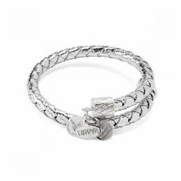 Alex and Ani Shimmer Metallic Leather Wrap